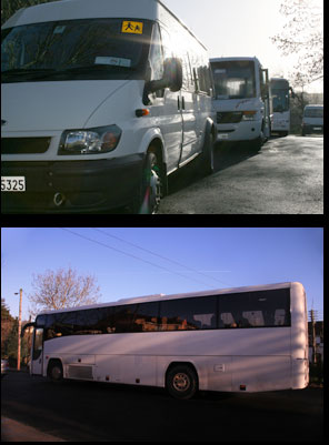 coaches and buses